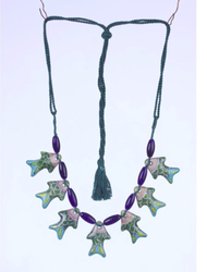 Fish Shaped Pottery Necklace