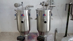 Bin Charging Powder Transfer System