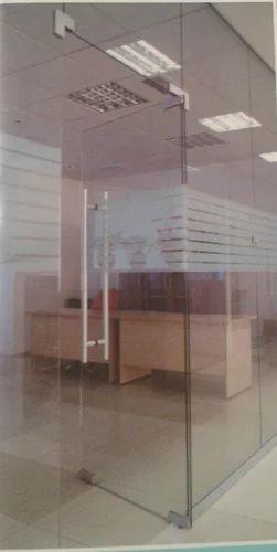 12 Mm Toughened Glass Door At Rs 750 Feet Toughened Glass Door Id 11492275548