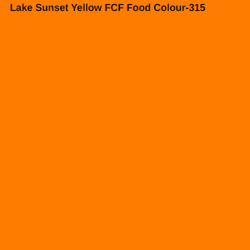 315 Lake Sunset Yellow FCF Food Color