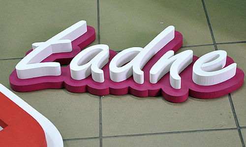 Acrylic 3D Letter at Rs 160 /square inch(s) | Acrylic 3d Letter ...