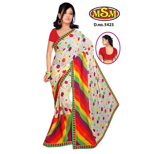 3b5abd3d2 Cotton Printed Saree at Rs 365  piece