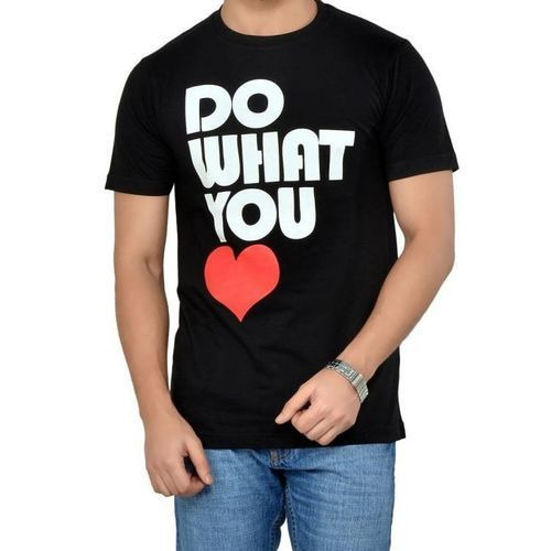 53435da733 Printed Round Neck T Shirt at Rs 159 /`piece | Ghanta Ghar | Delhi ...