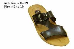 Slippers PU Gold