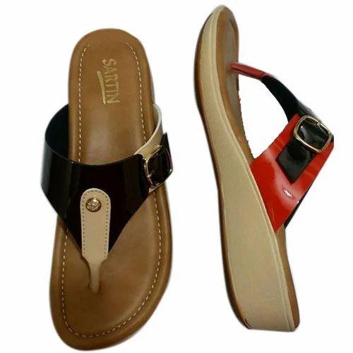 Flip Flop Slippers, Size 6, Rs 400 Pair, Silver Footwear -4257