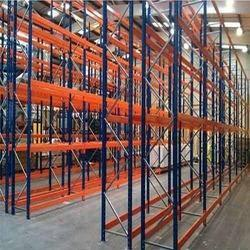 15-20 Feet Mild Steel Metal Storage Racks, For Industrial