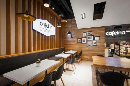 Cafe Interior Design In Faridabad Badkhal Village By Schoen Interiors Id 12833960891