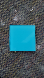 Light Blue Decor Glass