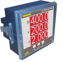 YOKINS 96x96 DC Power Analyser (DC kwh and DC Wattmeter), Model Name/Number: Dc Power Analyzer, for Industrial