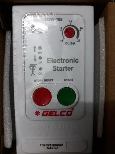 Electronic Motor Control Panel and Power Auto Switch Manufacturer