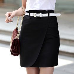 Ladies Formal Knee Skirt