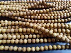 Sandalwood Beads And Sandalwood Wrist Mala Beads