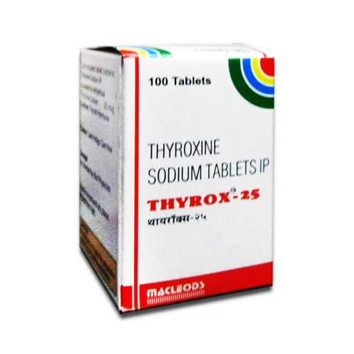 Thyrox As Prescribed By The Physician New Global Enterprises