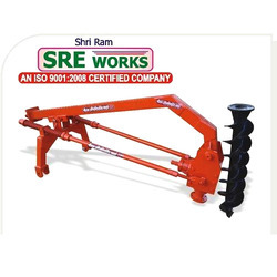 Shri Ram Post Hole Digger, Weight: 300 kg