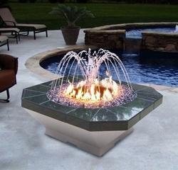 Crown Fire Fountain