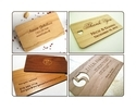 Wooden Business Card Printing Service