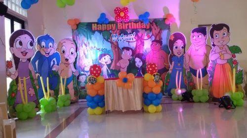 Namkaran Decoration Super Hero Theme Party Decoration Service