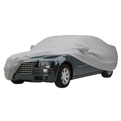 Grey Canvas And Polyester Car Covers