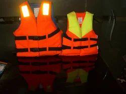 Orange Polyester Life Jackets