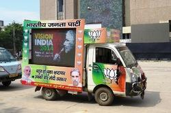 Led Screen/display On Hire For Election Campaigning