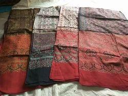 Real handicrafts Ajrakh Cotton Stole, Size: 56 X 200cm