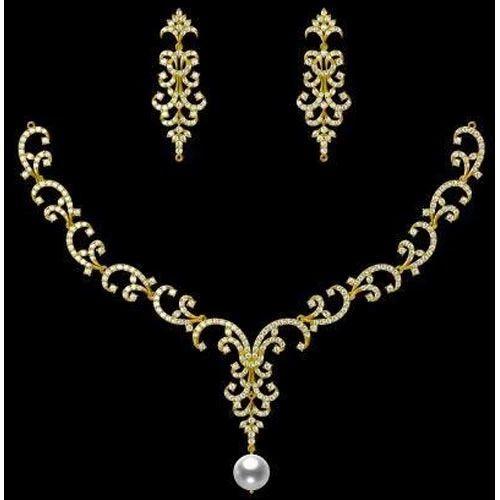 Designer Gold Necklace Set At Rs 100000 Set Surat Id 13429862662