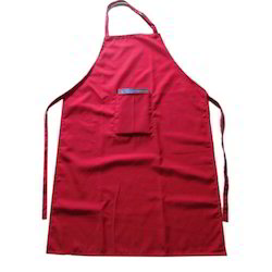 kitchen apron. blended cotton kitchen apron