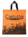 Handled Orange Non Woven Shopping Bag