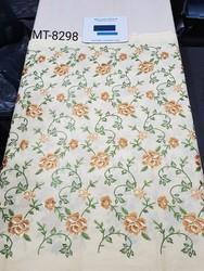 6 Colours Embroidery Fabric, Use: Garments