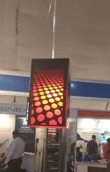 LED Acrylic Hanging Lamp