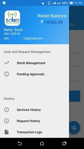 Android App For White Table Recharge Website in Salem Tabri