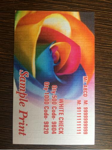 visting card services
