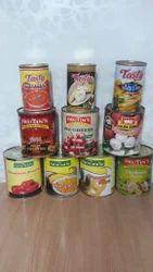 Tin Foods Items