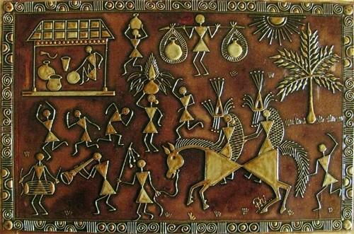 Warli painting at rs 1500 piece warli paintings id 16683233348 warli painting altavistaventures Image collections