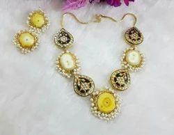 Druzy Necklace Set