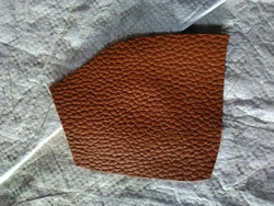 Brown Leather Fabric