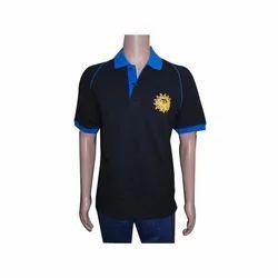 Cotton Polo Neck Collar T-Shirt