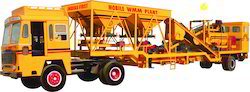 Mobile Wet Mix Macadam (WMM) Plant