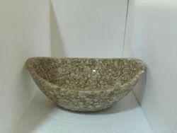 Resin Stone Bowl