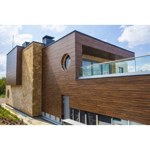 Exterior Wall Cladding Services : Exterior cladding wall laminated
