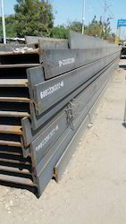 Steel Beams for Construction Site