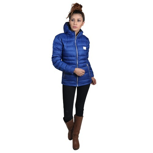 8e1a0154075e Blue Medium And Large Ladies Down Jackets, Rs 1800 /piece   ID ...