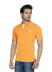 Cotton Collar Neck NDM T Shirt, Size: S to XL
