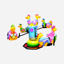Dragon Kiddie Amusement Ride Game - Multi