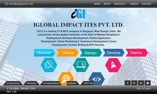Web Designing Development In Durgapur Road No 100 By Igi World Id 11355777155