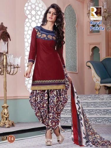 478ed10ef0 Indian Fashion Patiyala Salwar Suit, Punjabi Salwar Kameez ...