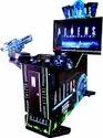 Black Aliens Gun Shooting 42 Game
