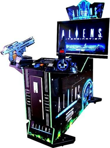 Aliens Gun Shooting Game