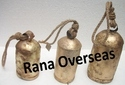 Iron Metal Bell With Jute Rope