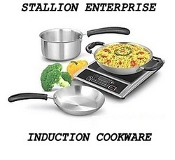 Silver Frying Pan